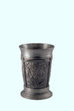 Silver goblet Stock Images