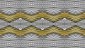 Silver and gold abstract background for the design of textiles,. Silver and gold abstract background is computer graphics and can be used in the design of stock illustration
