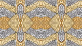 Silver and gold abstract background for the design of textiles,. Silver and gold abstract background is computer graphics and can be used in the design of vector illustration