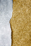 Silver and gold background Stock Image