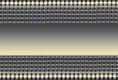 Silver Gold and Black Mesh Stock Photo