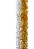Silver and gold garland Stock Photography