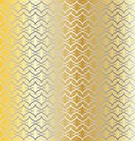 Silver and Gold Linked Background. A gold and silver linked pattern background royalty free illustration