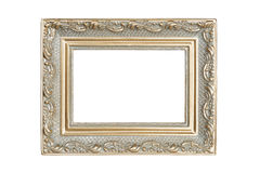 Silver-gold picture frame Stock Image
