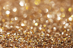 Silver and gold sparkle background Royalty Free Stock Photography