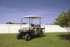 Silver Golf Cart Stock Photos
