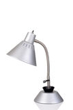 Silver gooseneck lamp Stock Photos