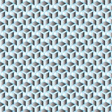 Silver gradient blue line geometric pattern background Stock Photos