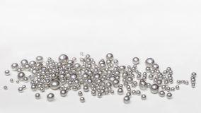 Silver Granules Stock Image