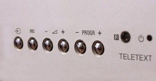 Silver gray buttons Royalty Free Stock Photography