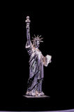 Silver Gray Handmade Liberty Statue Royalty Free Stock Photography