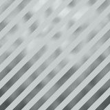 Silver Gray Metallic Grey Faux Foil Diagonal Stripes Royalty Free Stock Image