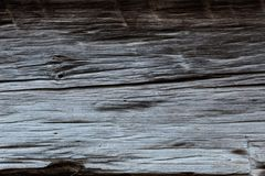 Silver grey and brown hand hewn wood beam background. Horizontal aspect Stock Photo