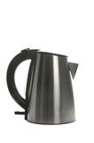 Silver grey kettle Royalty Free Stock Image