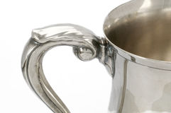 Silver handle Royalty Free Stock Images