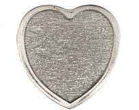 Silver Heart 1 Royalty Free Stock Image