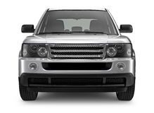 Silver Heavy SUV Stock Images