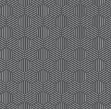 Silver Hexagonal with Grey Pattern Background Royalty Free Stock Photography