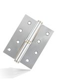 Silver hinge Royalty Free Stock Photo