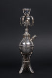 Silver hookah antique Royalty Free Stock Photo