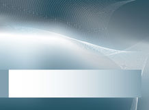 Silver horizontal background Royalty Free Stock Image