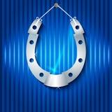 Silver horseshoe Royalty Free Stock Images