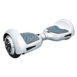Silver hover board Stock Images