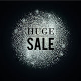 Silver-huge-sale Stock Photo
