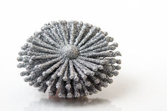 Silver Ice Crystal Stock Image