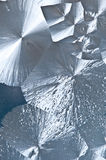A silver ice texture Stock Photos