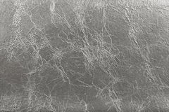 Silver imitation leather texture background Royalty Free Stock Photos