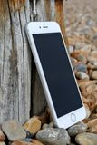 Silver Iphone 6 Royalty Free Stock Photo