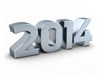 Silver 2014 Stock Image