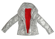 Silver jacket Stock Images