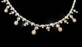 Silver Jewelery. Stock Photography