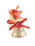 Silver jingle bells Royalty Free Stock Image