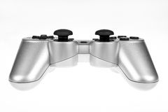 Silver joystick Royalty Free Stock Photography