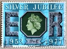 Silver jubilee Stock Image
