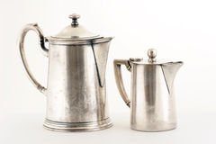 Silver jug Royalty Free Stock Photography