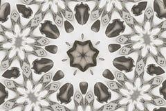 Silver kaleidoscope Stock Image