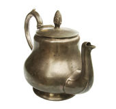 Silver kettle Royalty Free Stock Photography