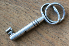 Silver key Stock Images