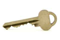 Silver key Stock Photography