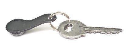 Silver key Stock Photos