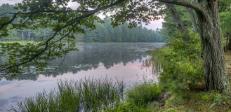 Silver Lake στη κομητεία του Sullivan Στοκ φωτογραφία με δικαίωμα ελεύθερης χρήσης
