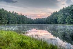 Silver Lake στη κομητεία του Sullivan Στοκ Εικόνα