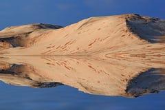 Silver Lake-de Bezinningen van Zandduinen Royalty-vrije Stock Afbeeldingen
