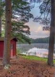 Silver Lake en Sullivan County photo stock