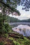 Silver Lake en Sullivan County image stock