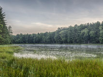 Silver Lake en Sullivan County Images stock